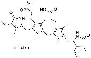 bilirubin formula, Skeleton