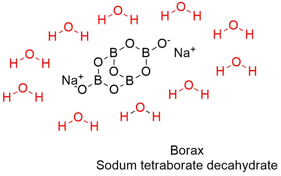 Borax Formula