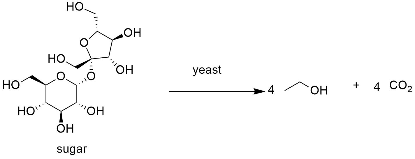 Ethyl alcohol Formula