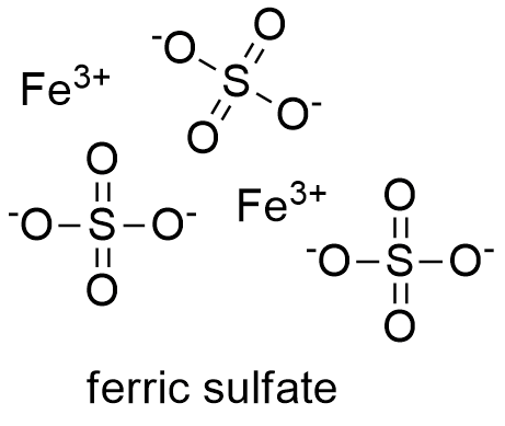 hydrated iron sulphate