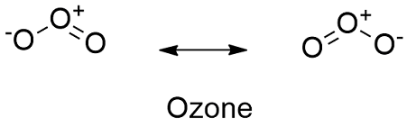 Ozone Structural Formula Ozone Formula