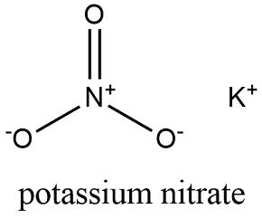 Potassium Nitrate Formula