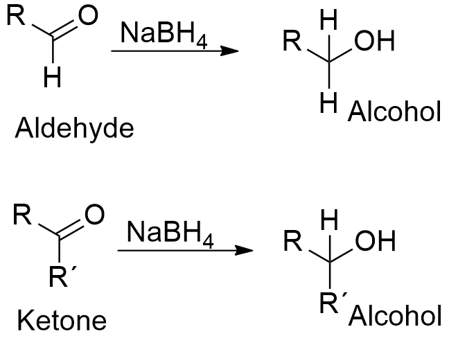 sodium borohydride reduction Leah4scicom/redox presents: carbonyl reduction using nabh4 - sodium borohydride reaction, mechanism and examples need help with orgo download my free guide '10.