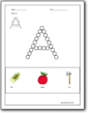 Printables Letter A Worksheets letter a worksheets alphabet sound handwriting for short and long a