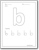 letter b worksheets teaching the letter b and the b sound letter b worksheets for. Black Bedroom Furniture Sets. Home Design Ideas