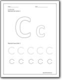 math worksheet : letter c worksheets  alphabetc sound handwriting worksheets for  : Letter C Worksheets For Kindergarten