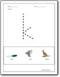 math worksheet : letter k worksheets  teaching the letter k and the k sound  : Letter K Worksheets Kindergarten