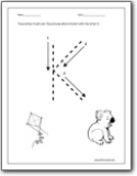 math worksheet : letter k worksheets  teaching the letter k and the k sound  : Letter K Worksheets Kindergarten
