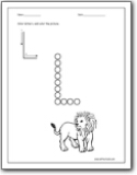 letter l worksheets  teaching the letter l and the l sound  letter l color
