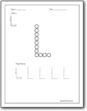 Letter L Worksheets : Teaching the letter L and the /l ...