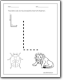 letter coloring pages letter l worksheets for prek free printable letter 1359