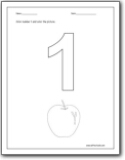Worksheets Preschool Number 1 Worksheets number 1 worksheets for preschool and worksheets