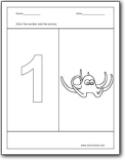 Number 1 Worksheets : Number 1 worksheets for preschool and ...