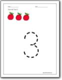 Number 3 worksheets number 3 worksheets for preschool and kindergarten number 3 color trace worksheet ibookread ePUb
