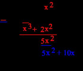Mathwords: Polynomial Long Division
