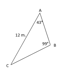 Printables Law Of Sines Worksheet using the law of sines to find an unknown side