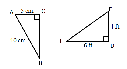 Using Trig Ratios To Solve Triangles Angles