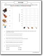 musical_instruments_for_sale_bar_graph_worksheet