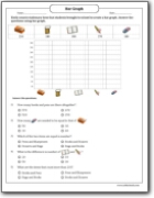 stationary_items_draw_the_bar_graph_worksheet
