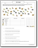 wild_animals_counting_tally_bar_graph_worksheet