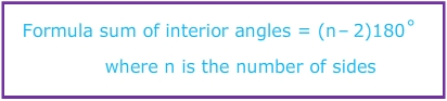 The Sum Of Interior Angles In A Polygon